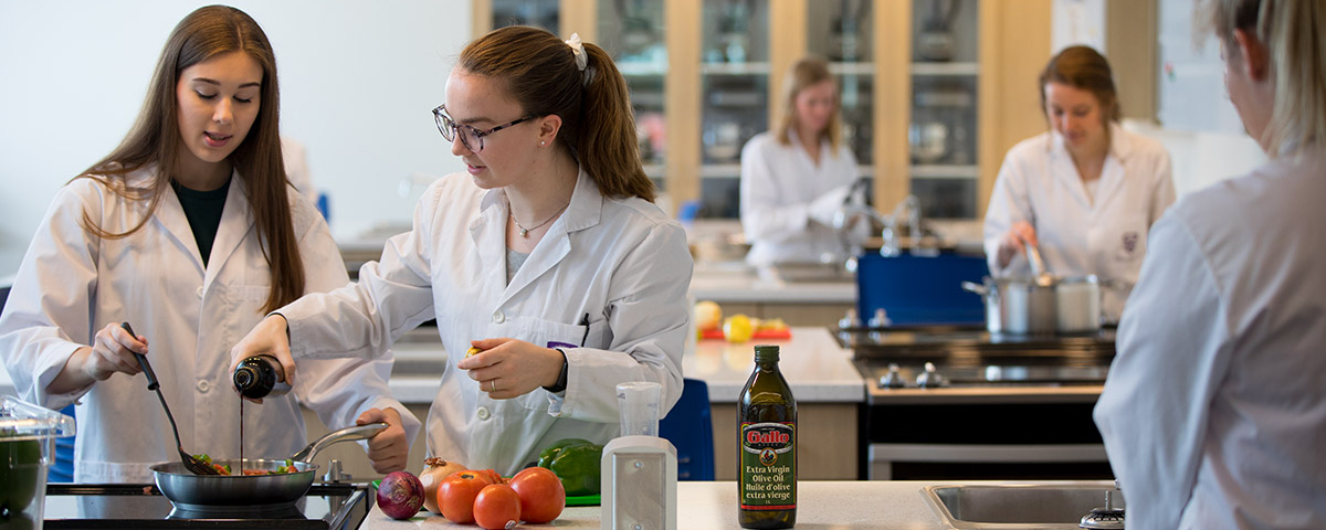 Passionate about the food industry & business?  The right education makes all the difference.